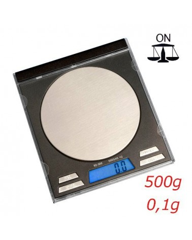 Balance electronique en CD SQUARE SCALE SS-500 précision 0.1g