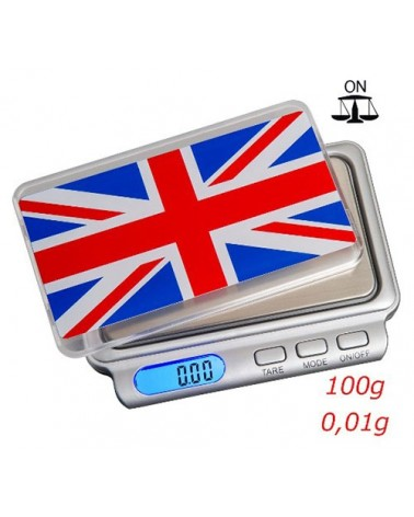 Balance électronique TRUWEIGH Union Jack TW-100
