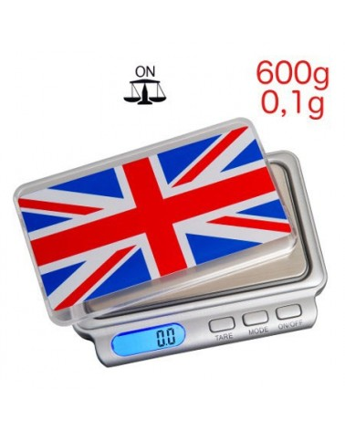 Balance electronique TRUWEIGH Union Jack TW-600