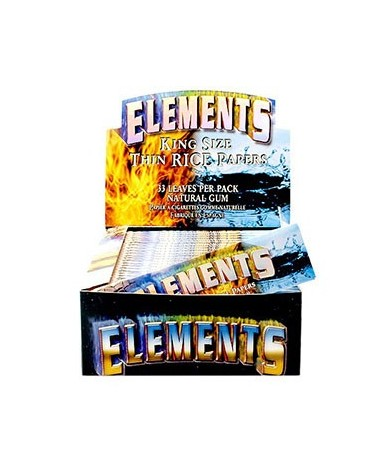 Paquet de feuilles Elements Slim extra fines