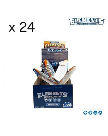 carnets de cartons coniques ELEMENTS