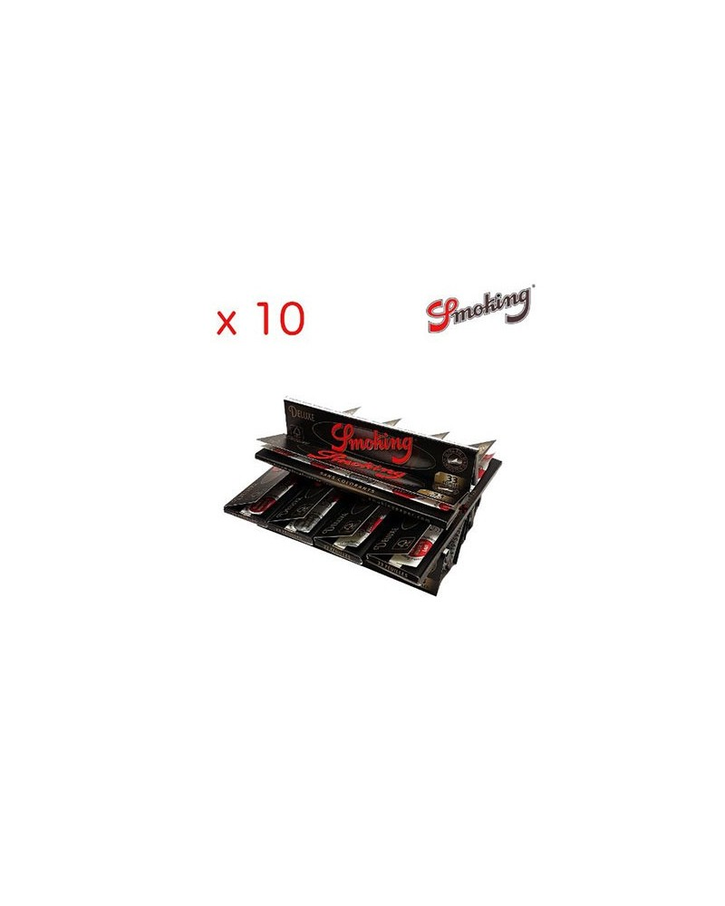 lot de 10 paquets Smoking King Size Deluxe