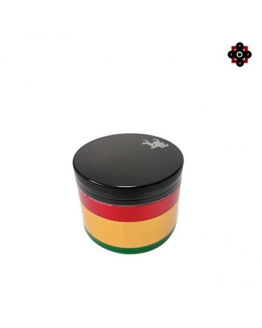 Grinder polinator Rasta BLACK LEAF 4 parts