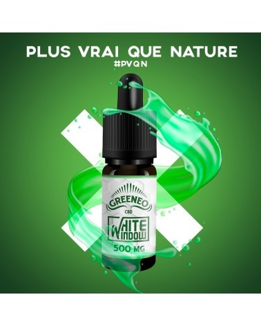 E-liquide CBD WHITE WINDOW