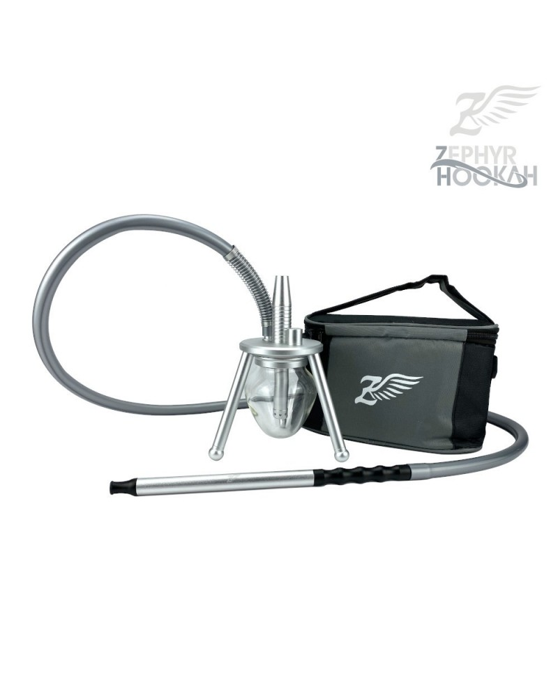 Chicha ZEPHYR HOOKAH Argent - The Travellers