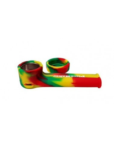 Pipe en silicone incassable Rasta PieceMaker